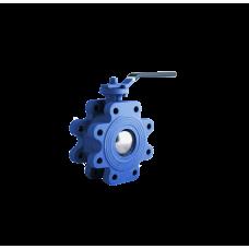 Кран шаровой CDY-1030 межфланцевый с резьбовыми проушинами DN100