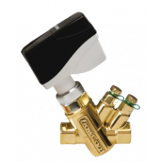 Комбинированный балансировочный клапан GREEN, Ду15 без измерительных ниппелей, FLOWCON