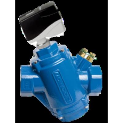 Комбинированный балансировочный клапан GREEN, Ду50 с измерительными ниппелями, FLOWCON