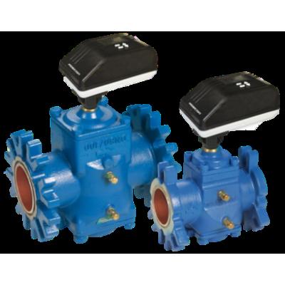 Фланцевый независимый от давления динамический регулирующий клапан SM, Ду200/250мм, c измерительными ниппелями, FlOWCON