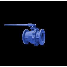 Кран шаровой Т-0520 двухсоставной DN100