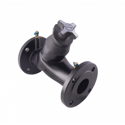 Фланцевый ручной балансировочный клапан T-3020 Ду80, DUYAR