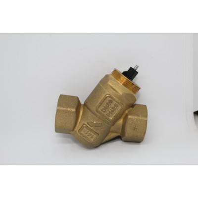 Комбинированный балансировочный клапан UniQ, Ду15 без измерительных ниппелей, FLOWCON