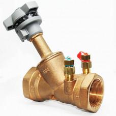 Ручной балансировочный клапан T-3010 Ду15, DUYAR