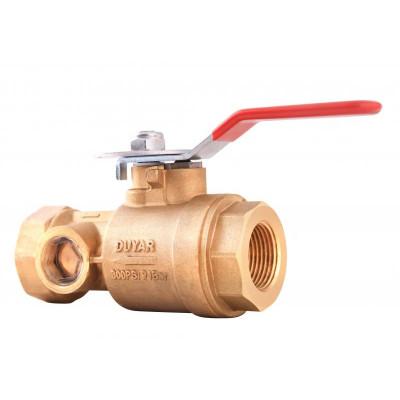 Контрольно-дренажный клапан Y-4030 DN40-50